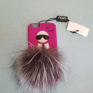 Fendi Karlito Pink I Phone 6, Phone Case New